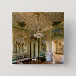 Das Boudoir der Königin, 1774-86 Quadratischer Button 5,1 Cm