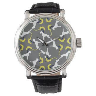 Das Boxer-Muster Uhr