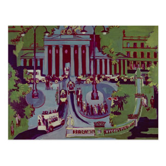 Das Brandenburger Tor, Berlin, 1929 Postkarte