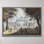 Das Brandenburger Tor, Berlin Poster