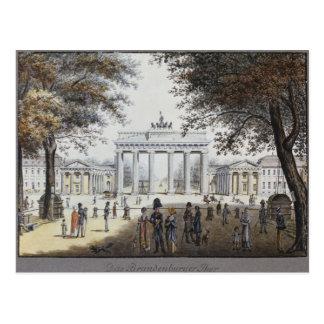 Das Brandenburger Tor, Berlin Postkarte