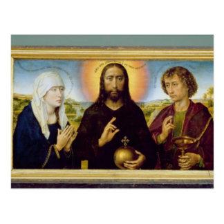 Das Braque Familien-Triptychon, Johannes Postkarte
