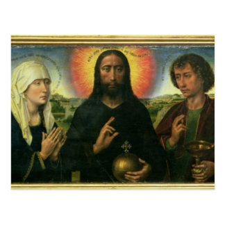 Das Braque Familien-Triptychon: (LtoR) Johannes Postkarte
