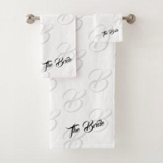 Das Braut-Badezimmer-Tuch-Set Badhandtuch Set