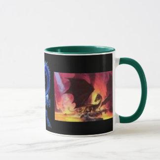 Das Brüllen-Tasse des Drachen Tasse