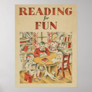 Das Buch-Wochen-Plakat 1935 Kinder Poster