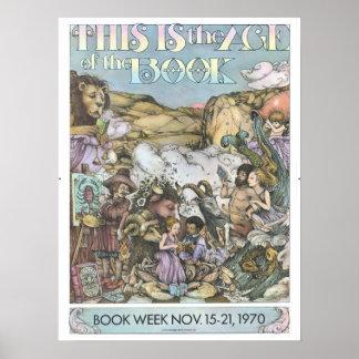 Das Buch-Wochen-Plakat 1970 Kinder Poster