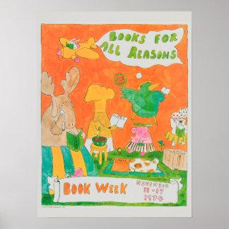 Das Buch-Wochen-Plakat 1974 Kinder Poster