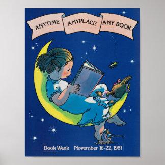 Das Buch-Wochen-Plakat 1981 Kinder Poster
