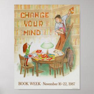 Das Buch-Wochen-Plakat 1987 Kinder Poster