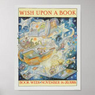 Das Buch-Wochen-Plakat 1988 Kinder Poster