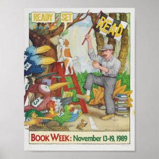 Das Buch-Wochen-Plakat 1989 Kinder Poster