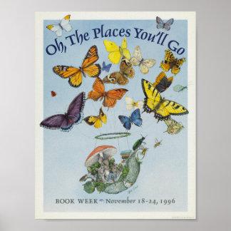 Das Buch-Wochen-Plakat 1996 Kinder Poster