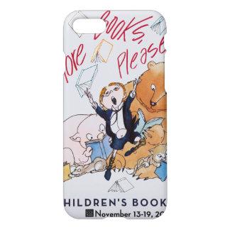 Das Buch-Wochen-Telefon-Kasten 2006 Kinder iPhone 8/7 Hülle
