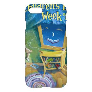 Das Buch-Wochen-Telefon-Kasten 2008 Kinder iPhone 8/7 Hülle