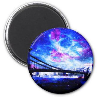 Das Budapest DreamsTake des Liebhabers ein Blick Runder Magnet 5,1 Cm