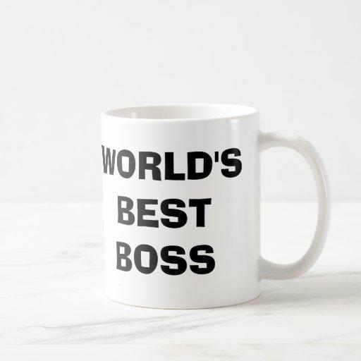 Das Büro, der Chef-Kaffee-Tasse der Welt beste