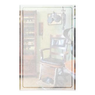 Das Büro des Augenarztes Briefpapier