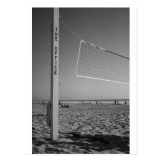 Das Büro, Strand-Volleyball Postkarte