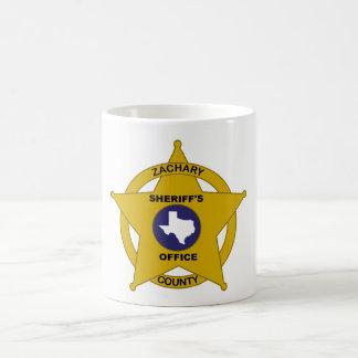 Das Büro-Tasse des Zachary-Landkreis-Sheriffs Kaffeetasse