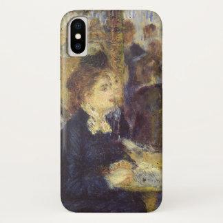 Das Café durch Pierre Renoir, Vintager iPhone X Hülle