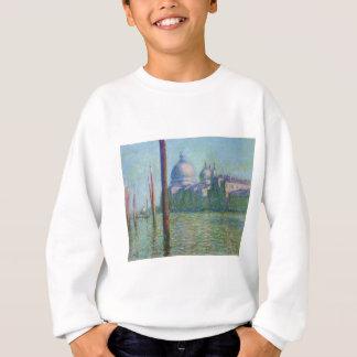 Das Canal Grande 03 durch Claude Monet Sweatshirt