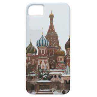 Das cathedral_russo des Heilig-Basilikums iPhone 5 Hülle