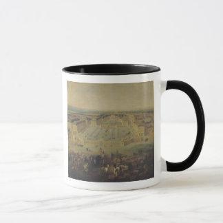 Das Chateaude Versailles und der Platz Tasse