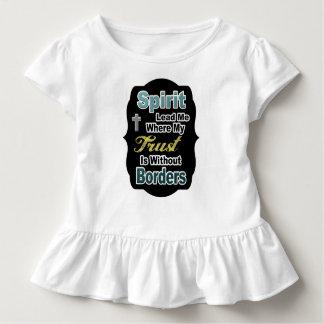Das christliche Shirt des Kindes