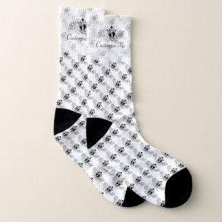 Das Claddagh (Schwarzes) Socken