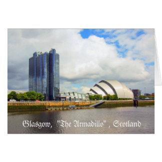 Das Clyde-Auditorium, Glasgow, Karte