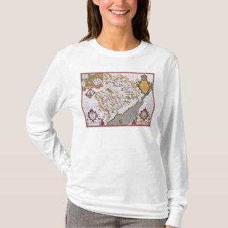 Das Countye von Monmouth, graviert durch Jodocus T-Shirt