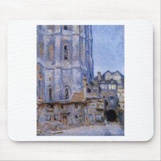 Das Cour d'Albane durch Claude Monet Mousepad