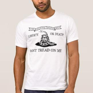 Das Culpeper treten nicht auf mir Flaggen-Shirt T-Shirt