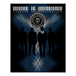 "Das D.O.P. Informationsfreiheit-Plakat (16"" x20"") Poster"