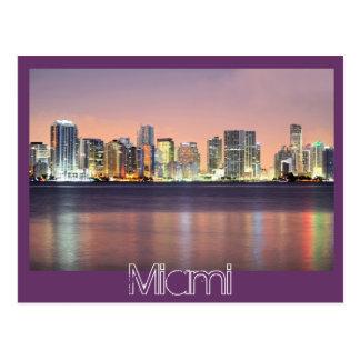 Das Dämmern der magischen Stadt, Miami Postkarte