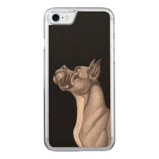 DAS DÄNE iPhone 6 Holz Carved iPhone 7 Hülle
