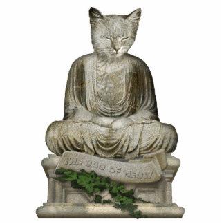 Das Dao von Meow Freistehende Fotoskulptur