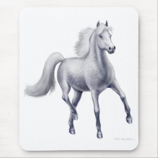Das Dappled graue Pferd Mousepad