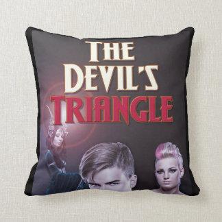 Das Das Dreieck-Designer-Wurfs-Kissen des Teufels Kissen