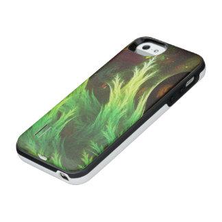 Das DeepDream einer Meerespflanze der verblaßten iPhone SE/5/5s Batterie Hülle