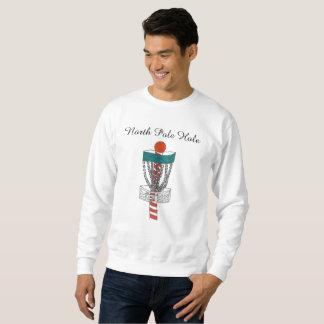 Das Discgolf Nordpol-Lochsweatshirt Sweatshirt