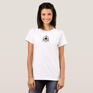 Das dritte Auge der Frauen mischte sich Logo-T - T-Shirt