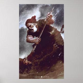Das Duell des alten Patrioten Plakat