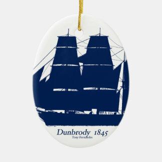 Das Dunbrody 1845 durch tony fernandes Keramik Ornament