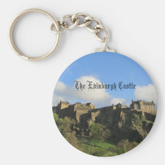 Das Edinburgh-Schloss Keychain Schlüsselanhänger