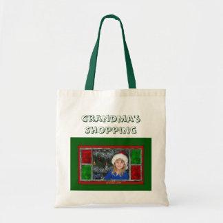 Das Einkaufen der Großmutter Budget Stoffbeutel