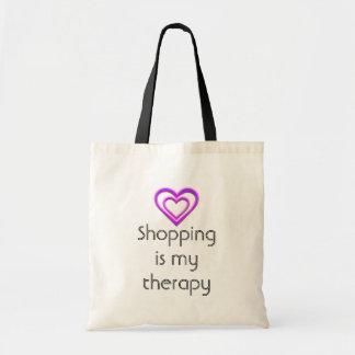 Das Einkaufen ist meine Budget Stoffbeutel