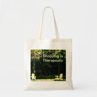 Das Einkaufen ist therapeutische Taschen-Tasche
