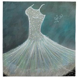 Das Eis-Kleid Serviette